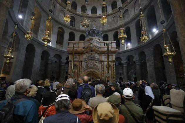 Gli esperti hanno datato per la prima volta la tomba di Cristo a Gerusalemme, ma non ha 2000