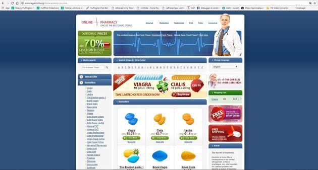 Hackerato sito della Lega, si vende Viagra