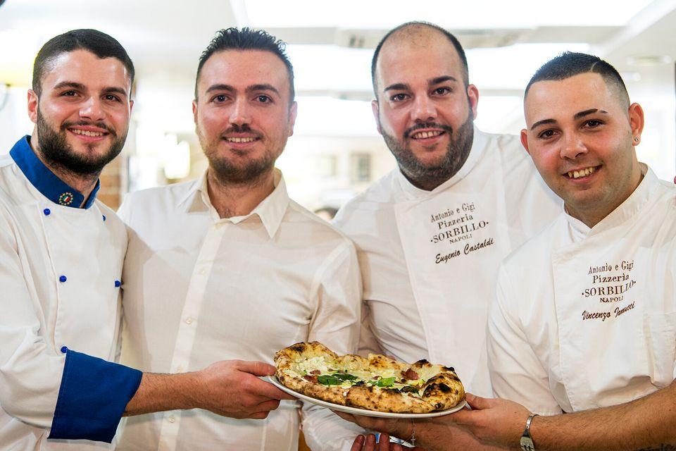 La squadra della pizzeria