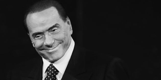 MILAN, ITALY - NOVEMBER 26: (EDITORS NOTE: This image has been converted in black and white) Silvio Berlusconi...