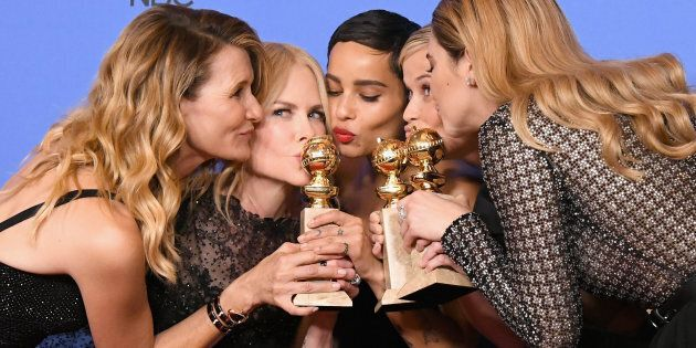 Il risveglio di Hollywood in total black, ai Golden Globes l'Italia resta a