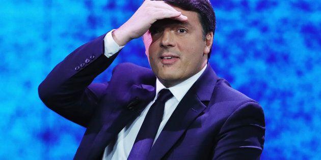 MILAN, ITALY - DECEMBER 03: Matteo Renzi attends 'Che Tempo Che Fa' TV Show on December 3, 2017 in Milan,...