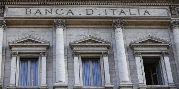 Veduta esterna della sede della Banca d'Italia, Palazzo Koch, a Roma in una foto d'archivio.ANSA/ALESSANDRO...