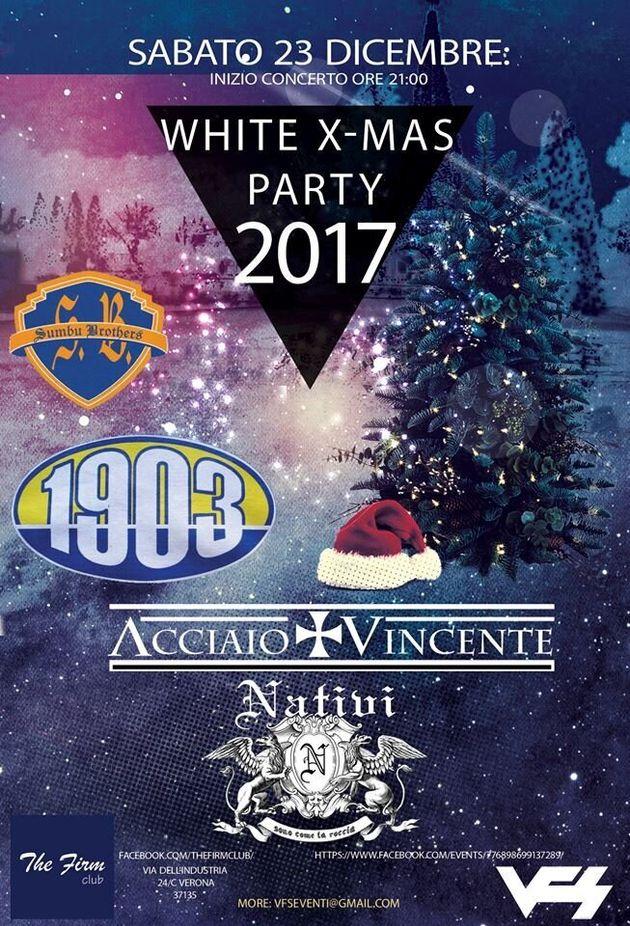 A Verona gli skinhead organizzano il concerto di Natale ariano: