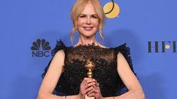 Nicole Kidman nel discorso ai Golden Globes
