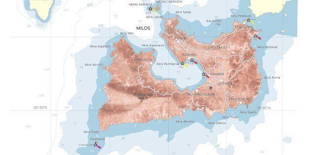 (L'isola di Milos, nel Mar