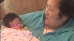 Setsuko Harmon, la nonna affetta da Alzheimer che incontra ogni giorno sua nipote per la prima