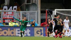 Bellezza del calcio: il Benevento conquista il primo punto con un gol del