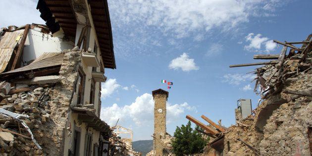 La crosta terrestre dell'Italia centrale vibra dal 24 agosto