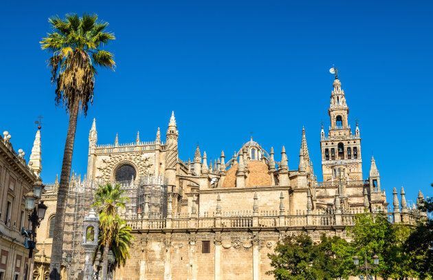The Cathedral of Saint Mary of the See in Seville - Andalusia,