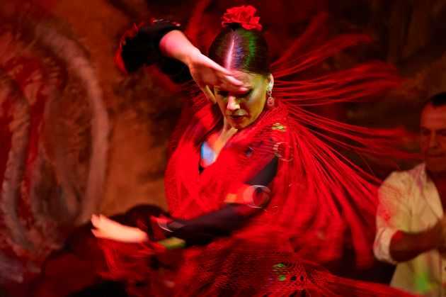 Europe, Spain, Andalucia, Andalusia, Seville, Flamenco dance culture and tradition, Tablao El Gallo Flamenco
