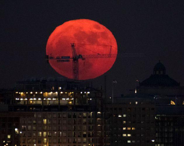 Se non siete riusciti a vederla, ecco le foto dell'unica Superluna del