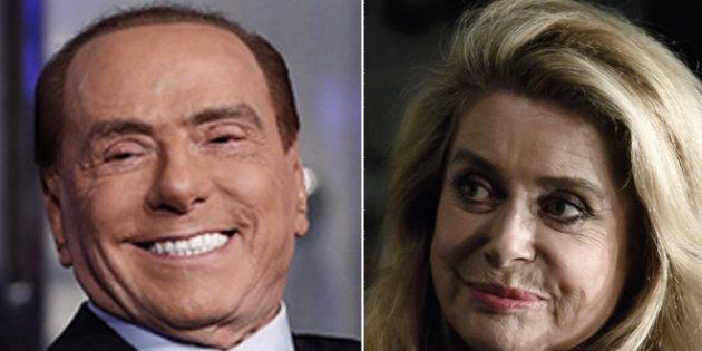 Silvio Berlusconi dà ragione a Catherine Deneuve:
