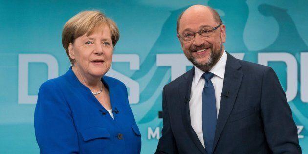 Accordo di governo in Germania. Martin Schulz tira dalla sua Angela Merkel su sanità, pensioni, rifugiati,...