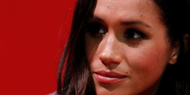Meghan Markle visits the Terrence Higgins Trust World AIDS Day charity fair at Nottingham Contemporary...