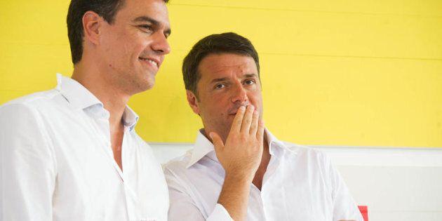 Renzi fa ingelosire i socialisti spagnoli: martedì a Roma incontro con il leader di