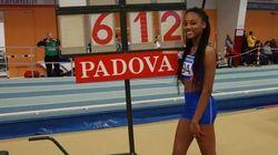 A 15 anni, la figlia di Fiona May segna il record nel salto in lungo (la specialità della