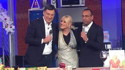 Fabrizio Frizzi ritorna a sorpresa in tv ed è in gran