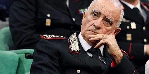 Il comandante Generale dell'Arma dei Carabinieri Tullio Del Sette, in una foto d'archivio. ANSA/ALESSANDRO...