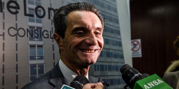 10/01/2017 Milano, Regione Lombardia, Attilio Fontana, nuovo candidato per il Centro Destra alle elezioni