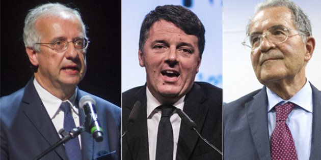 Renzi cerca l'aiuto dai padri nobili: Prodi e Veltroni, il piano B di una lista di sinistra senza