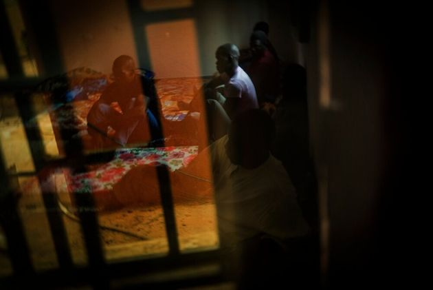 People* in detention center in Kararem, near of the city of Misrata. *Refugees, migrants and asylum