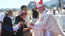 Francesco in difesa degli indigeni Mapuche