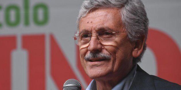 Massimo D'Alema al Pd:
