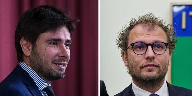 Luca Lotti contro Alessandro Di Battista: