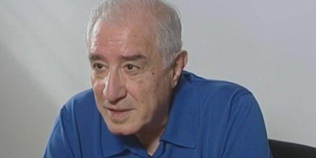 Un fermo immagine tratto dalla trasmissione di La7, 'In Onda', mostra l'intervista a Marcello Dell'Utri,...