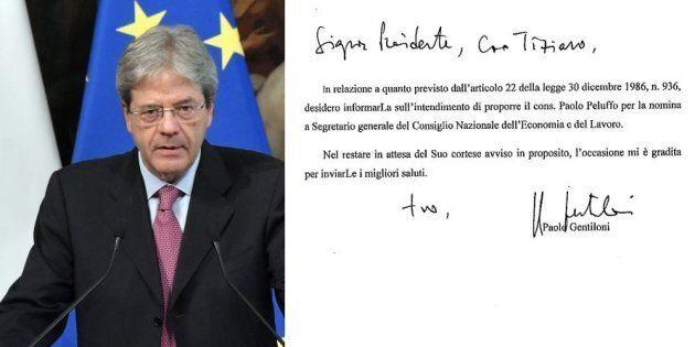 Gentiloni vuole l'ex sottosegretario di Monti a Segretario generale del Cnel. La destra attacca: