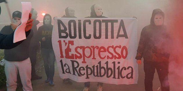 Lunedì presidio antifascista davanti alla sede di