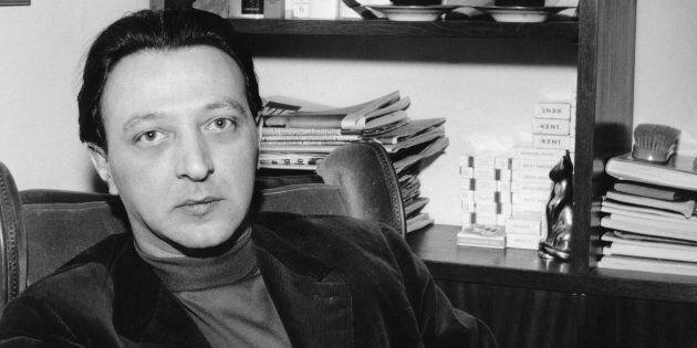 Italian writer Giovanni Arpino (1927 - 1987) in Milan, 22nd February 1962. (Photo by Keystone/Hulton...