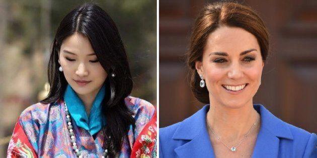 La Regina d'Oriente che viene dall'Himalaya sta rubando la scena a Kate
