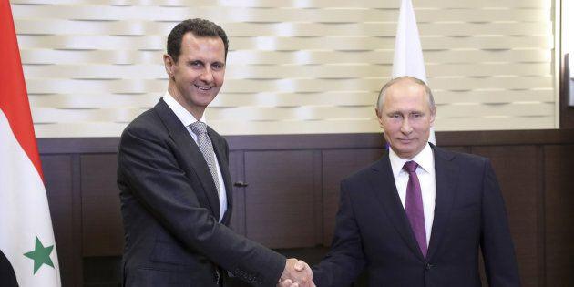 Visita a sorpresa di Putin in Siria: