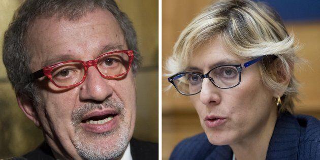 Roberto Maroni contro Giulia Bongiorno: