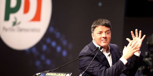 CENTRO CONGRESSI LINGOTTO, TORINO, ITALY - 2018/01/13: Italian Democratic Party leader Matteo Renzi speaks...