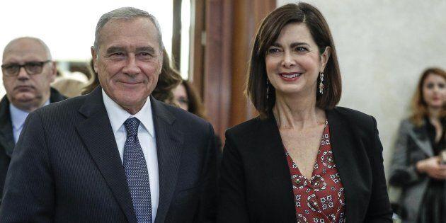 Laura Boldrini con Liberi e Uguali di Piero Grasso. Stabiliti data e luogo