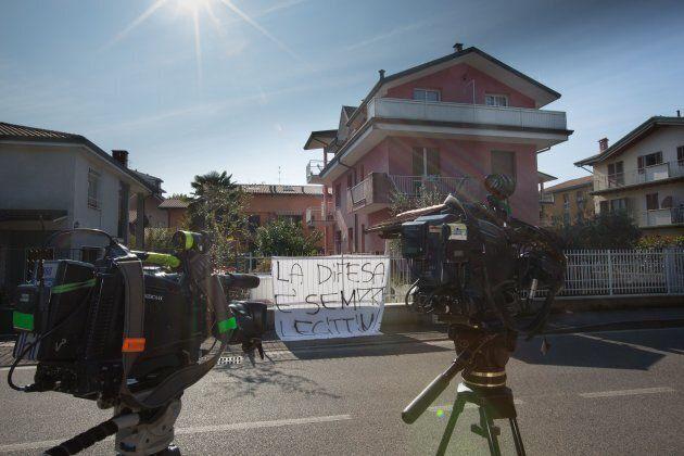 Vaprio D'Adda, Casa di Francesco Sicignano, l'uomo che ha ucciso un 22enne albanese sorpreso mentre rubava...