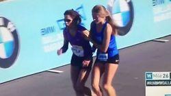 Il gesto di questa maratoneta di 17 anni dimostra che si può essere campioni anche senza