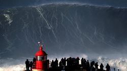 E' questa l'onda più grande mai