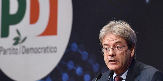 L'intervento del presidente del Consiglio Paolo Gentiloni durante il convegno del