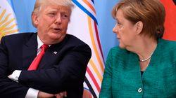 Angela contro l'egoismo di Trump. Anche Macron lo critica, ma punta su se