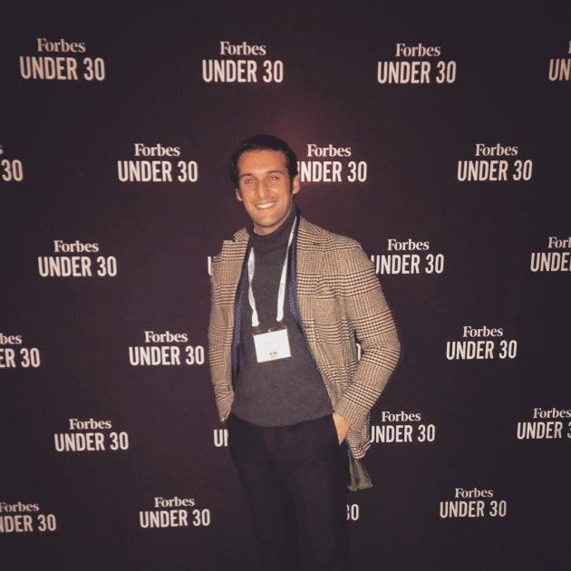 Giuseppe Cicero è un '30 under 30' di Forbes:
