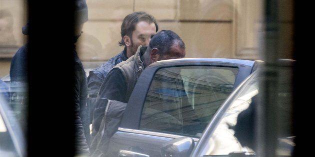 Carmine Spada, detto 'Romoletto', considerato il capo del clan, arrestato nella maxi operazione di Ostia,...