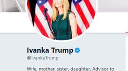 Secondo molte persone la nuova bio di Ivanka Trump su Twitter è un insulto alle
