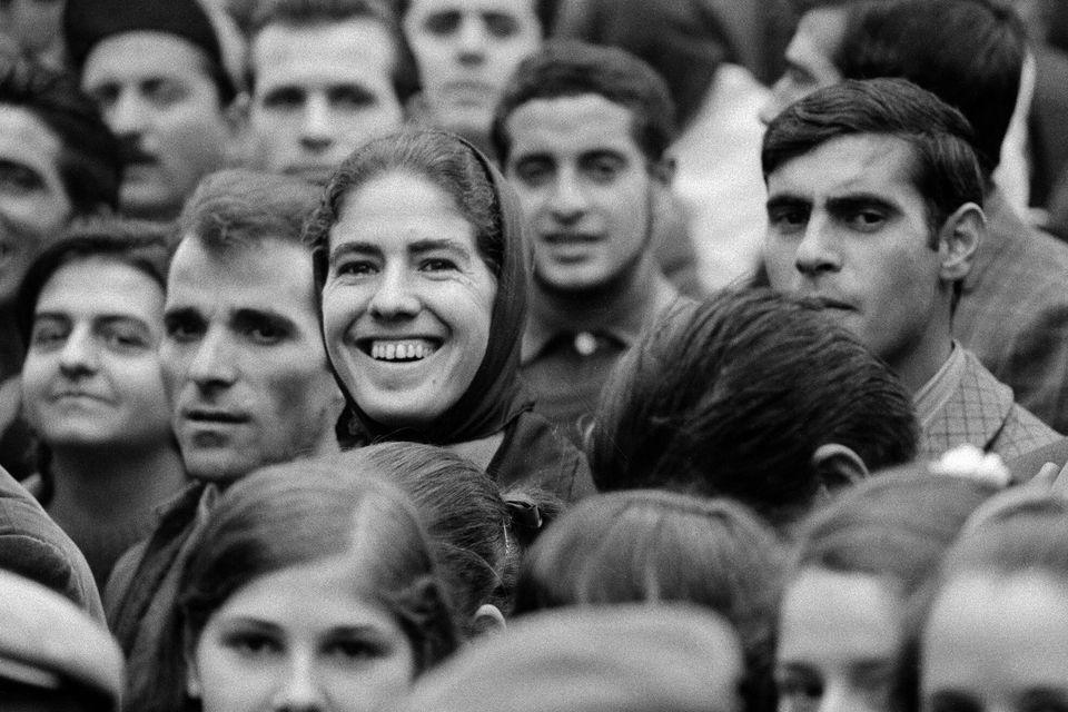 Sardegna 1968 / Bono, capoluogo del Goceano, in provincia di Sassari. Durante il comizio dell' onorevole...