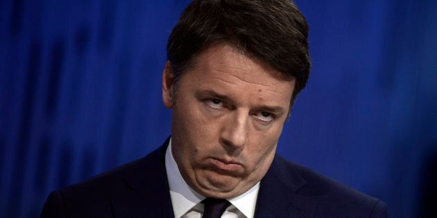 ROME, ITALY - JANUARY 08: The Secretary of the Democratic Party Matteo Renzi attends 'Otto E Mezzo' Talk...