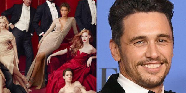 Vanity Fair ha rimosso James Franco dalla copertina delle star, in seguito alle accuse di
