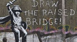 Banksy ha realizzato una nuova opera contro la